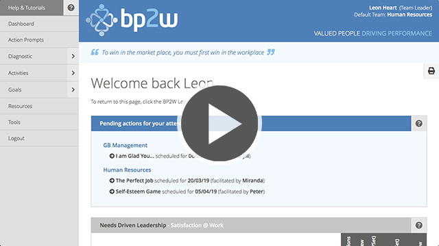 BP2W Welcome Back Tutorial