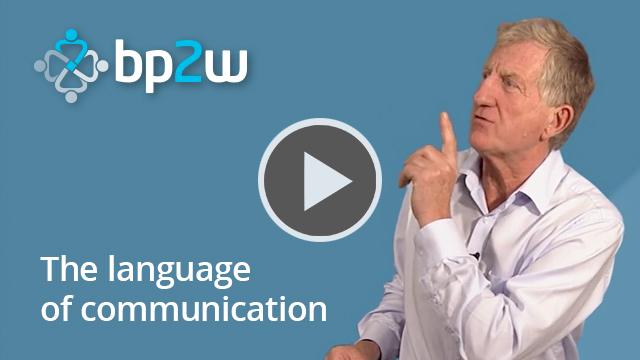 The language of communication