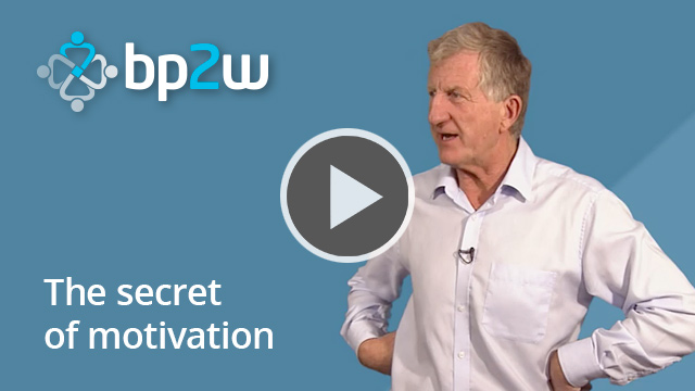 The secret of motivation