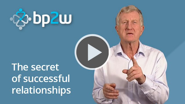 The secret of successful relationships